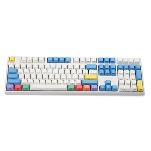 Image 3 - Ymdk chave de teclado ansi perfil, gravado a laser, 108, giz, teclado, para interruptores cherry mx, teclado mecânico