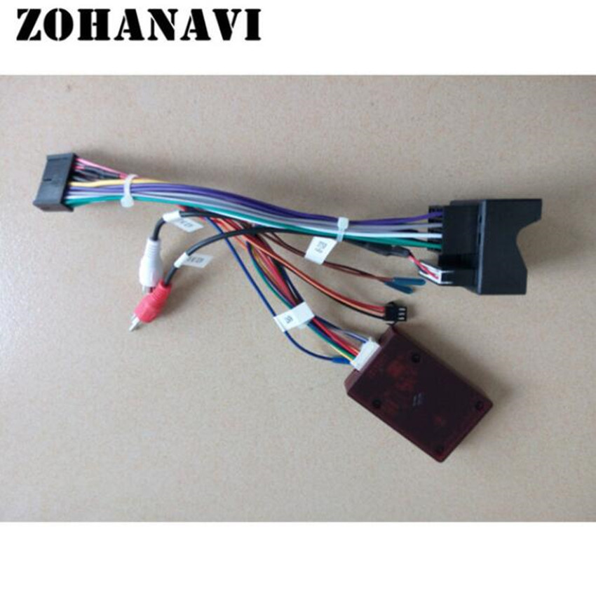 ZOHANAVI Canbus for our dvd radio player