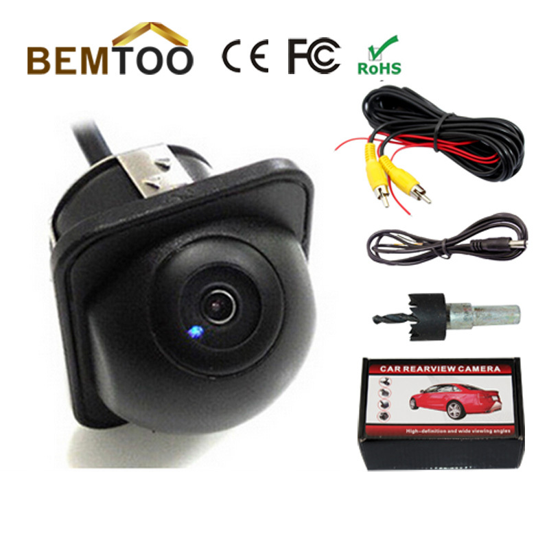 Car White High-definition 170 Degree Wide Rear View Angle Reverse Park Camera