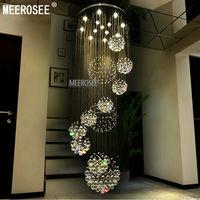 Modern Crystal Chandelier Lighting Fixture Crystal Light Lustre Spiral Crystal Lamp Chandeliers Hanging Light Fast Shipping