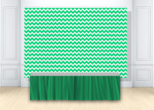 HUAYI green white Chevron backdrop Newborn photo Background baby boy baby shower birthday party decor backdrop photophone w-1844(China)
