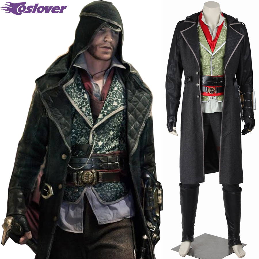 Assassin Creed Syndicate Jacob Frye Cosplay Costume Movie Game