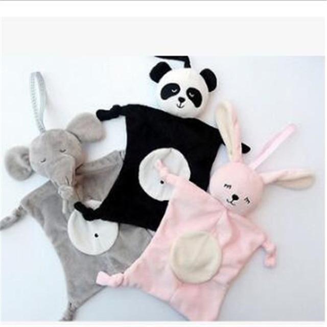 2018 Plush Baby Security Blanket Baby Shower Gift Stuffed Animal