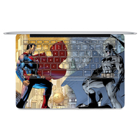 2016 Superman VS Batman Laptop Sticker Keyboard Side Full Vinyl Decal Skin For Apple Macbook Air
