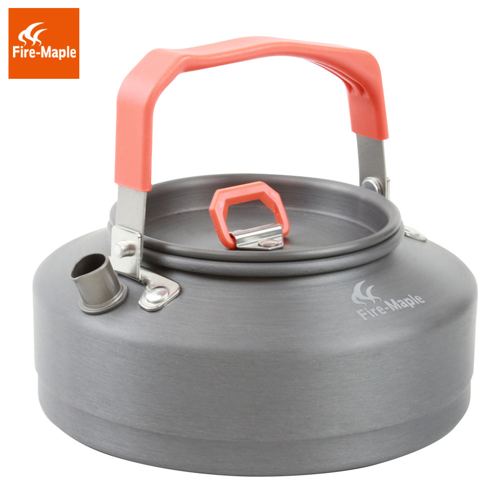Fire Maple Tea Pot Outdoor Camping Kettle Coffee with Heat Proof Handle and Tea-strainer Aluminum alloy 0.8L FMC-T3