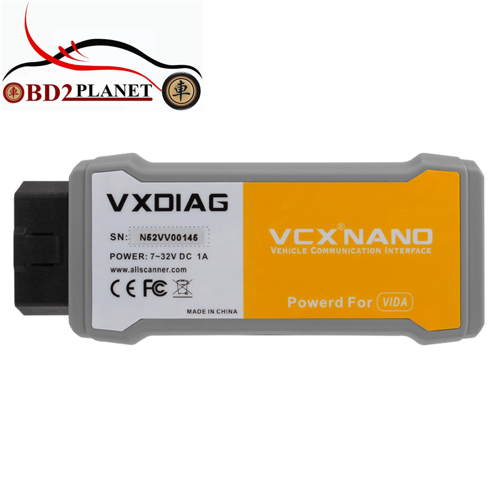2018 New VXDIAG VCX NANO For Volvo Car Diagnostic Tool better Than For Volvo Vida Dice 2014D 2016 vxdiag vcx nano for land rover and jaguar ssd v141 support all protocols 2 in 1 diagnostic tool for diesel