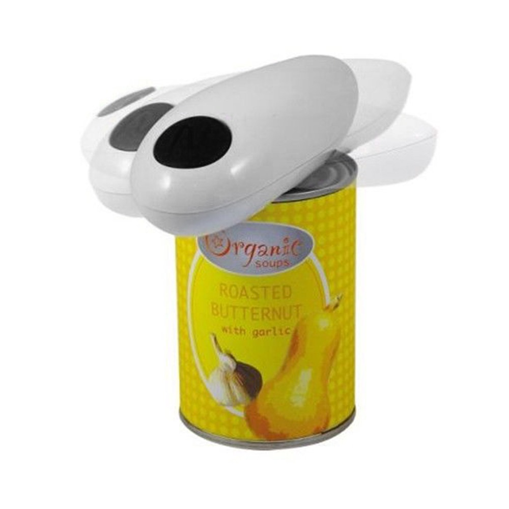 One Touch Automatic Electric Can Tin Bottle Opener &Bottle Wrench No Hands Battery Operated For Home Hotel Party Wedding