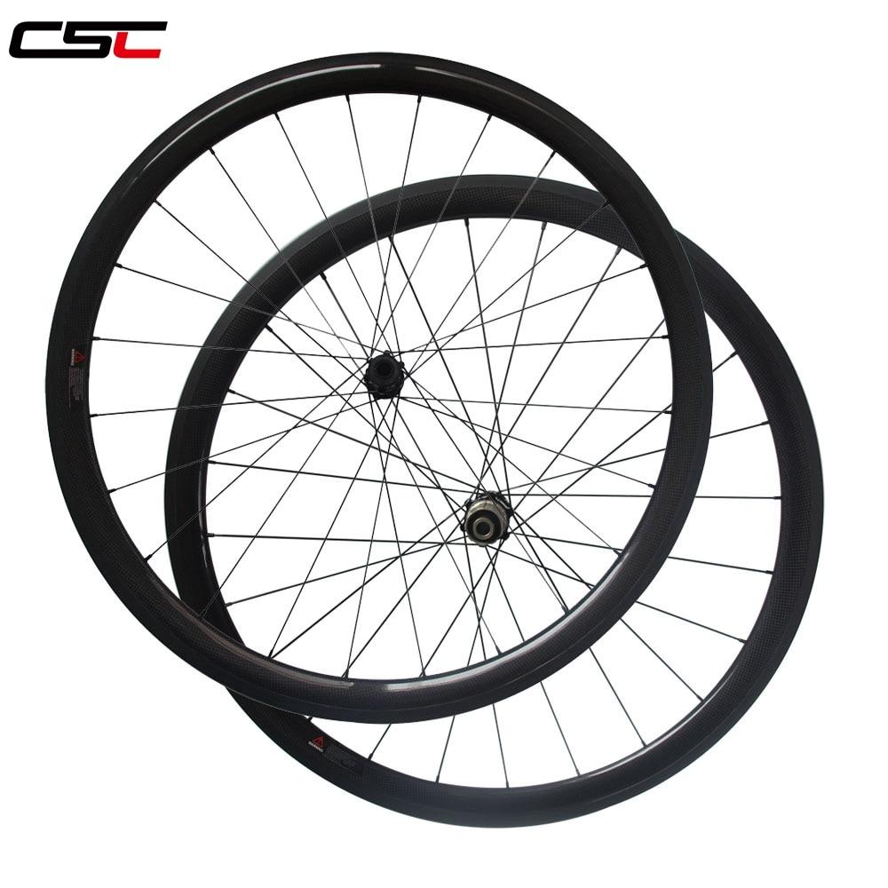 25 Width 30/38/50/60/88mm Clincher Tubeless D411SB-CL D412SB-CL Center Lock Disc Brake Bike Carbon Wheels Cyclocross Wheelset