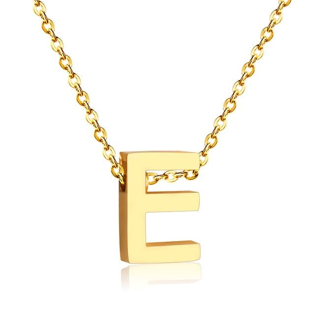 Letra e collares con cadena libre en collares pendientes de joyera letra e collares con cadena libre aloadofball Choice Image