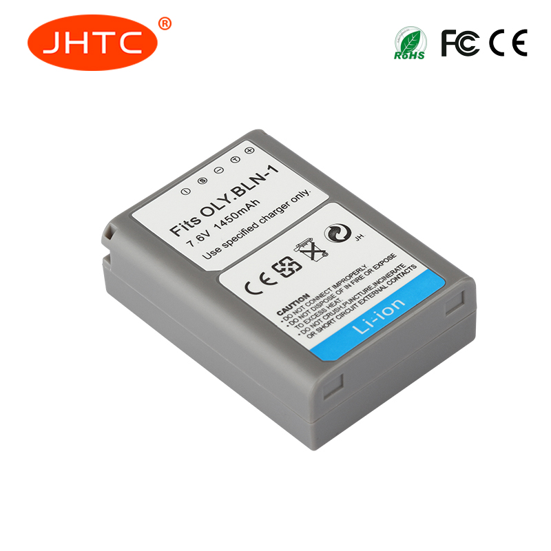JHTC 1pc 1450mAh BLN-1 PS-BLN1 Digital Camera Battery For OLYMPUS PS-BLN1 BLN-1 Rechargeable Battery for E-M5 EM5 OMD OM-D Batt