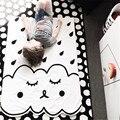 2016 Colchas de Verão de Algodão Dos Desenhos Animados Do Bebê Cobertor Macio Do Bebê Branco Cama Berço transporte Venda Quente Cochilo À Tarde Em Estoque Livre grátis