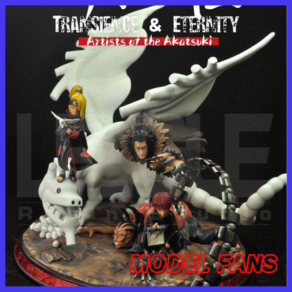 MODEL FANS INSTOCK 35cm NARUTO Transience & Eternity Akatsuki Sasori and Deidara GK resin statue for Collection model fans naruto 30cm height 1 6 akatsuki pain action figure toy for collection