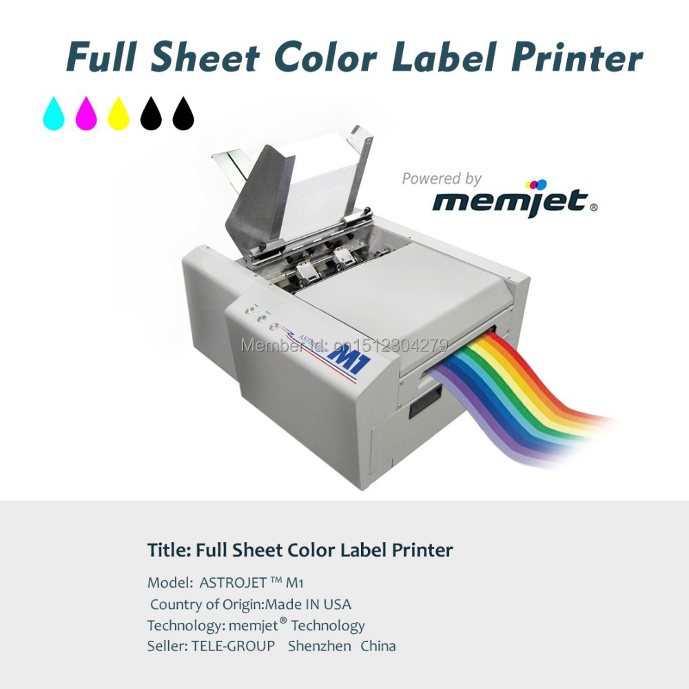Full Sheet Color Label Printer Inkjet Power By Memjet Astro M1Variabel Data PrintingCustomized Variable Labels On Aliexpress