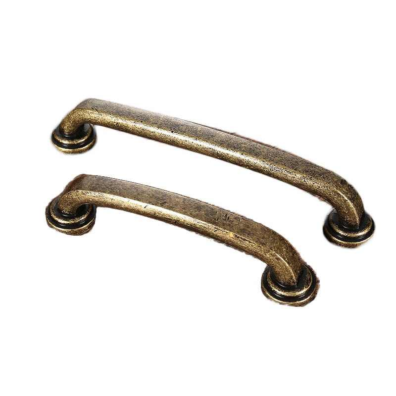 AOBITE Retro Metal Antique Brass 128mm Kitchen Drawer Cabinet Door Handle Furniture Knobs Wardrobe Cupboard Pull Handles 610