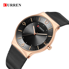 CURREN Top Brand Luxury  New Fashion&Casual Simple Business Watches Classic Dial Ultra-thin Quartz Wristwatches Clock
