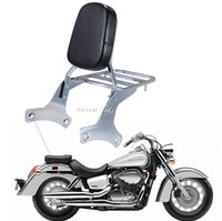 Sissy Bar Schienalino With Portapacchi For Honda Shadow VT 750 C2 RC44 1997 2003