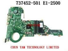 Original 737452-501 für hp 15-e 17-e laptop motherboard da0r76mb6d0 rev: d e1-2500 mainboard 100% getestet 90 tage garantie