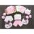 Algodón puro 18 unids/set Primavera otoño Ropa de bebé recién nacido ropa de Bebé Conjuntos de ropa de niño para el bebé regalo recién nacido