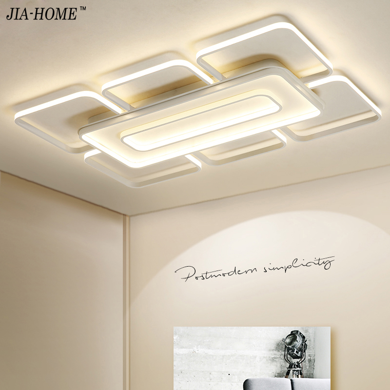 Dimming Ceiling Lights For Living Room Bedroom Home AC85-265V Modern Led Ceiling Lamp Fixtures lustre plafonnier lighting light цена