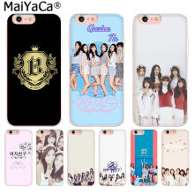 MaiYaCa GFriend Kpop Luxe High-end telefoon Case voor iphone 11 pro 8 7 66S Plus X 5S SE XS XR XS MAX Mobiele Cover(China)