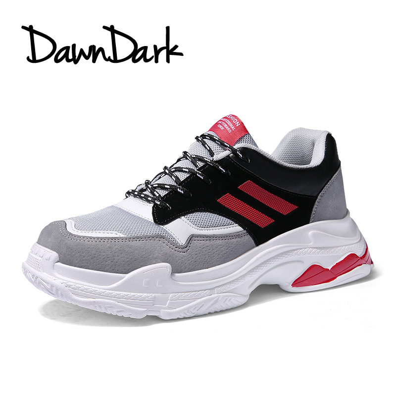 Running Shoes for Men Lace-up Black Gray Male Athletic Trainers Spring Summer Man Sports Shoes Outdoor Walking Sneakers