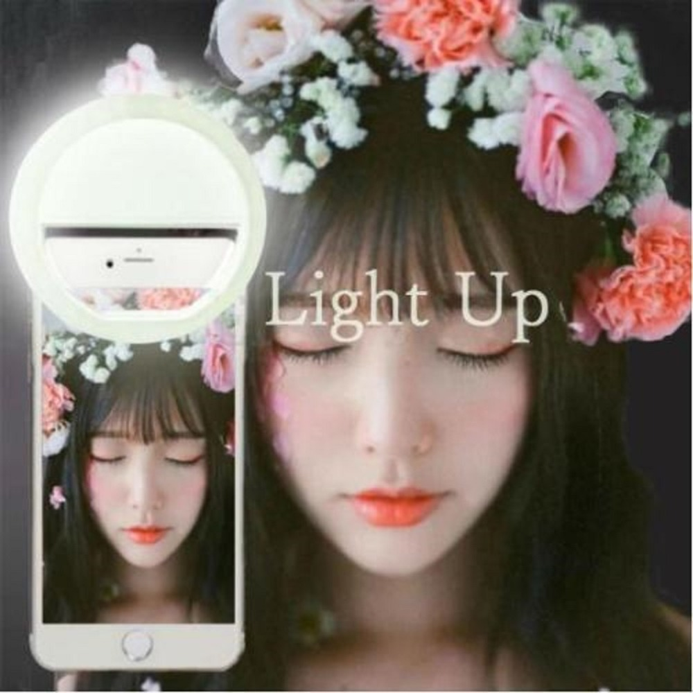 Mini Mobile Phone Clip Selfie LED Auto Flash Light Up For Smartphone Portable Selfie Flashlight Camera Flashlight For IPhone 6s