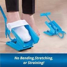 Дропшиппинг носок слайдер, как видно на телевизоре легко снимать носок аптечка носок помощник слайдер быстро и легко надевать носки для беременных