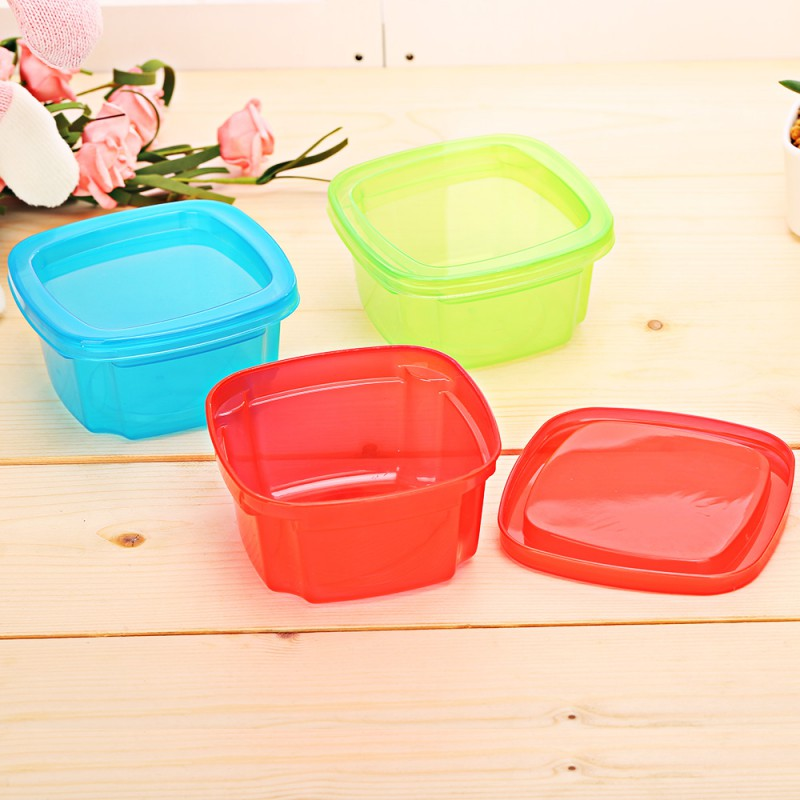 Baby Food Container Memory Storage Box Baby Milk Box Infant Food Supplement Crisper Lunch Snack Tableware