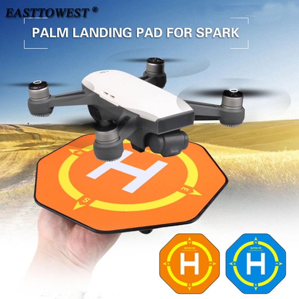 Easttowest DJI Spark Drone Accessories Mini Landing Pad on Palm for DJI Spark Accessories drone helipad