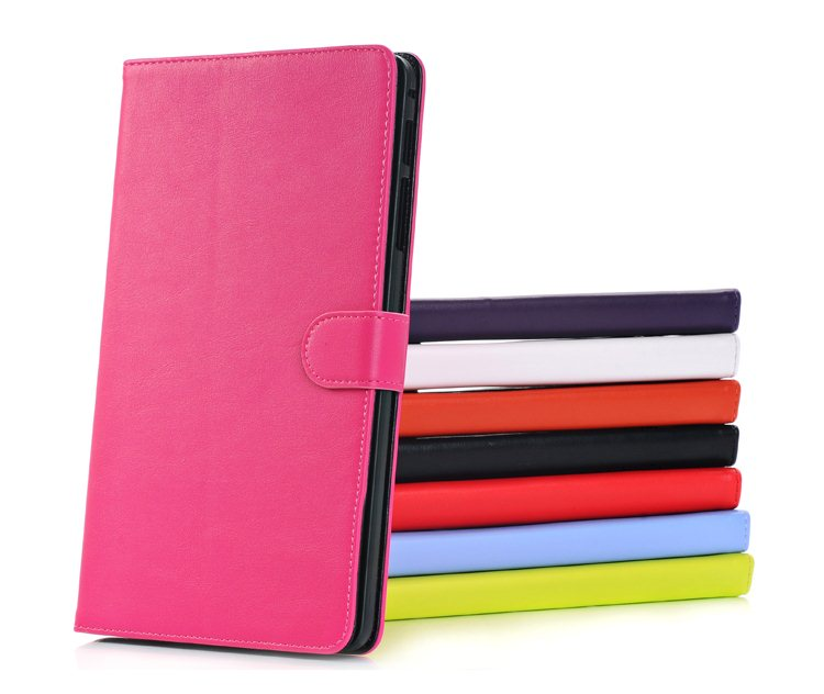 Fashion Folio Stand PU Leather Magnetic Closure Book Cover Holder Case For Samsung Galaxy Tab Pro 8.4 T320 T321 T325 Tablet