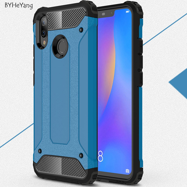 new arrival b9083 9ba91 US $2.68 6% OFF|For Huawei P Smart Plus Case Huawei P Smart+ Cover Silicone  Shockproof Slim Hard Tough Rubber Armor Cases for Huawei Nova 3i-in Fitted  ...
