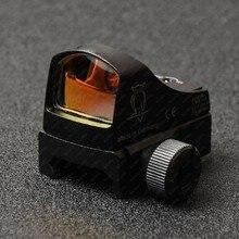 Тактический рефлекс Микро Мини 1x Красный точка зрения автоматическая подсветка с qd 20 мм Пикатинни 1913 рейку M2696