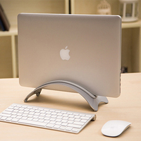 Vertical Adjustable Laptop Stand Aluminum Portable Notebook Mount Support Base Holder for MacBook Pro Air Matebook HP Accessory