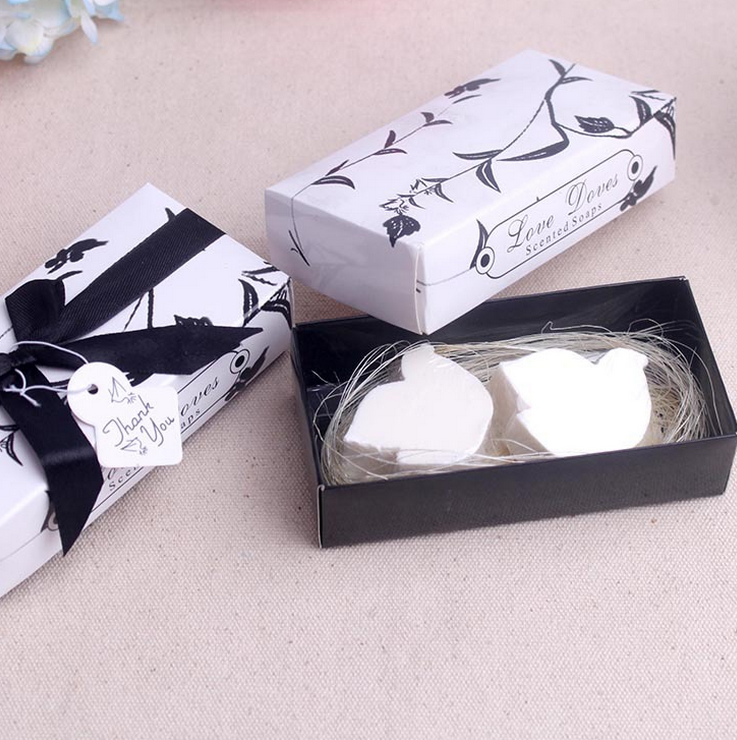 20 X Wedding Love Dove Soap Giveaways Return Present Small Gift