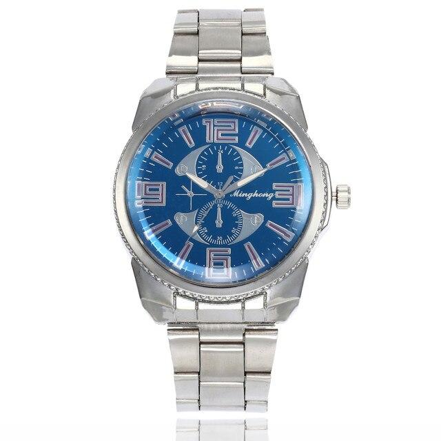 b886c93d2e2 Mens Watches Top Brand Luxury Watch Fashion Stainless Steel Watch For Men s  Quartz Analog Wrist Watch