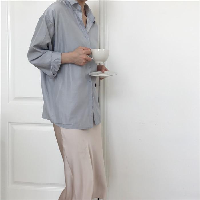 summer elegant high waist women long skirt solid A-line faldas mujer female solid slim jupe femme saia longa 1