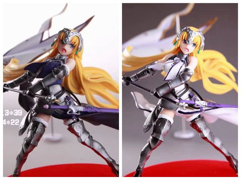 20CM Japanese anime figure Fate /Grand Order  Joan of Arc Waving flags ver action figure collectible model toys for boys japanese anime figure kurosaki ichigo bleach action figure collectible model toys for boys