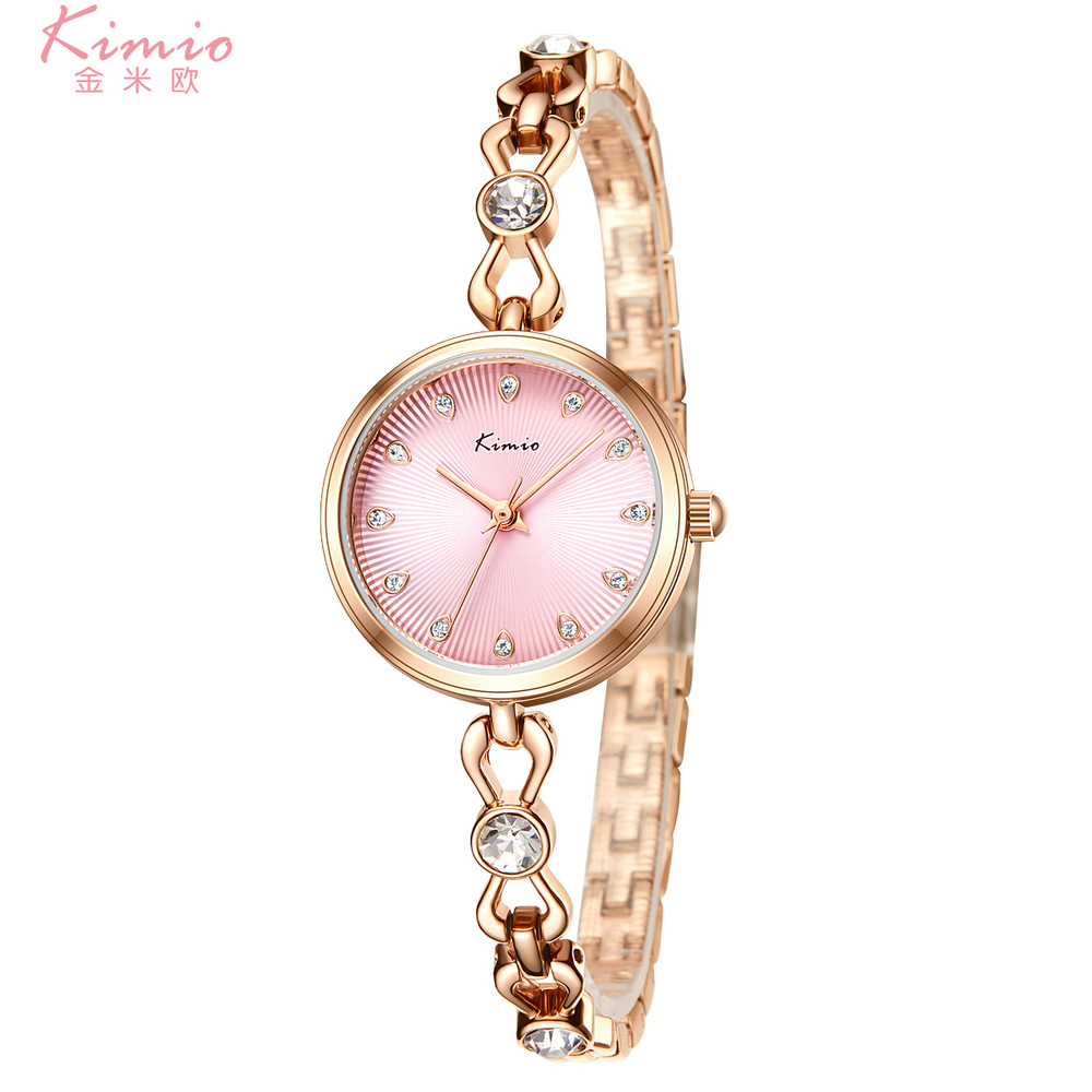 KIMIO Fashion Casual Wrist Watches for Women Japan Quartz Watch