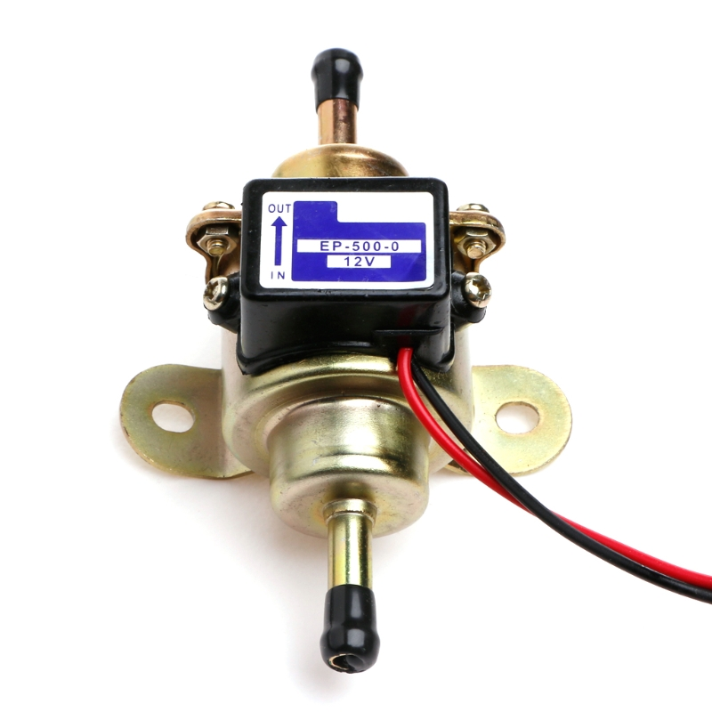 Universal Low Pressure Gas Diesel Electric Fuel Pump Replace EP-500-0 12V Auto Fuel Supply System Replacement Car Kit electronic fuel pump hep 02a 12v 24v car modification gas diesel low pressure petrol for motorcycle toyota ford yanmar nissan