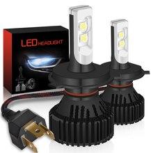 2x 16000Lm H13 Led Car Headlight H4 Hi/Lo Beam 9004 9007 H7 9005 HB3 9006 HB4 H10 H11 9012 H16 P13W PSX24W PSX26W Led Headlamps