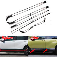 Car Styling Mouldings 8pcs Stainless Steel Door Side Line Cover Trim Garnish Strip For Honda CRV CR V 2017 Car Styling Covers