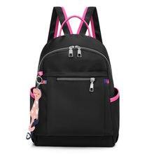 d0ef464f8 Oxford pano bolsa de ombro bolsa feminina 2018 nova onda de versão Coreana  da moda selvagem vento colégio saco mochila de lona g.