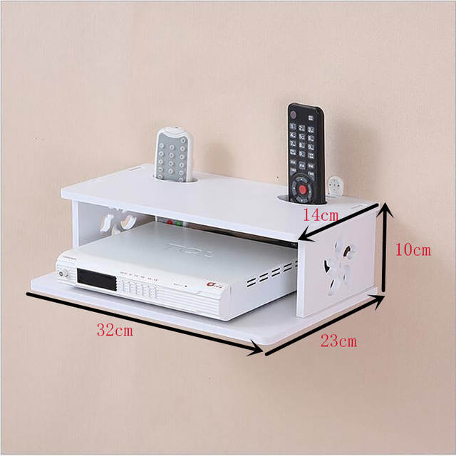 Creative Home Tv Cabinet Set Top Box Frame Router Shelf Storage
