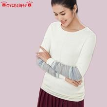 2017 spring autumn fashion new stripes stitching female sweater long sleeves round neck knitting slim women sweater ll378