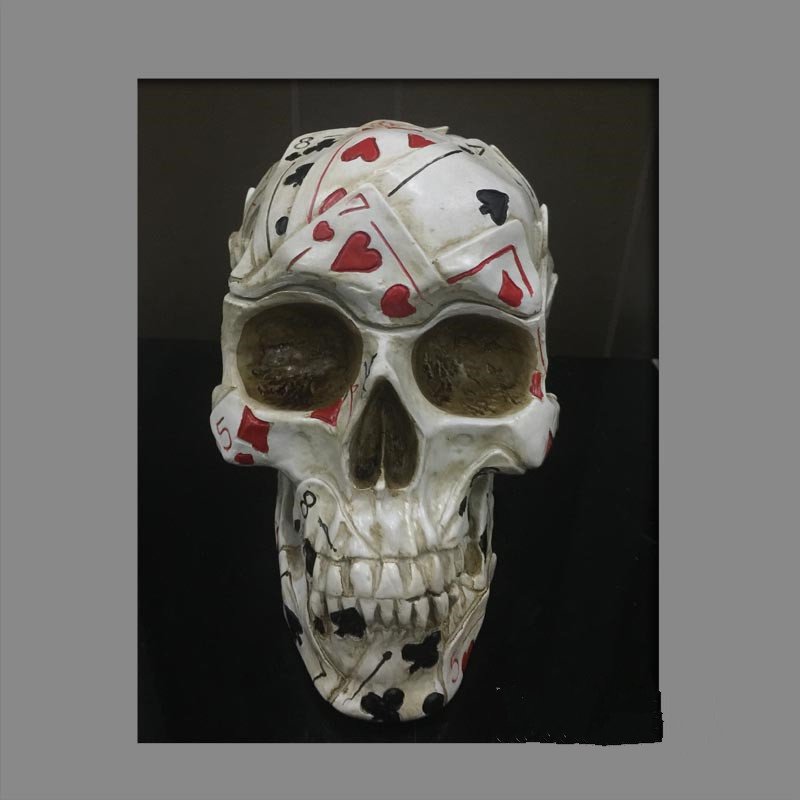 New Playing Cards Skull Decor Astrology Mexico Day Of The Dead Festival Halloween Bar Desk Ornaments Living Room Decor M1097New Playing Cards Skull Decor Astrology Mexico Day Of The Dead Festival Halloween Bar Desk Ornaments Living Room Decor M1097