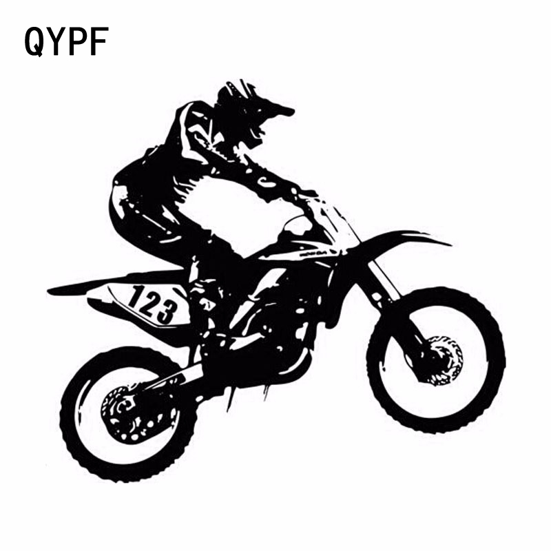 QYPF 20.3cm*18cm Personality Motorcycle Fashion Funny Car Stickers Accessories S2-0069