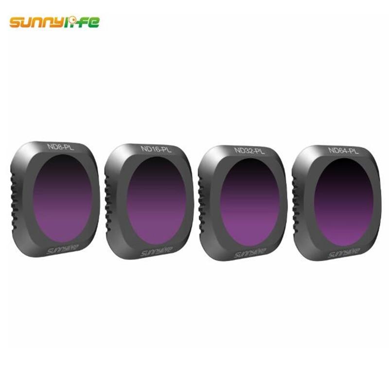 lowest price Sunnylife 4pcs set ND8-PL ND16-PL ND32-PL ND64-PL Lens Filter for DJI MAVIC 2 PRO Drone