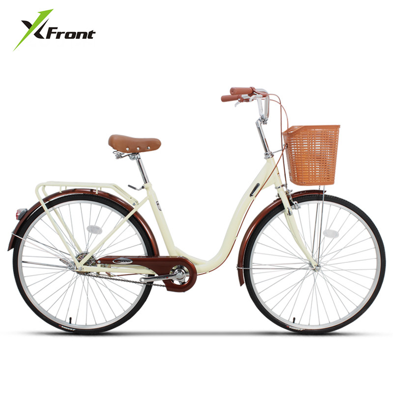 New Brand Womens Bicycle 24/26 inch Wheel Carbon Steel Frame Ladys Bike Outdoor Urban Student Bicicleta