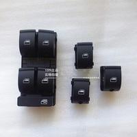 4 PIECES OEM original Master Power Passenger Window Switch Panel Fit For Audi A4 B6 B7 Sedan 8ED 959 851 8ED 959 855