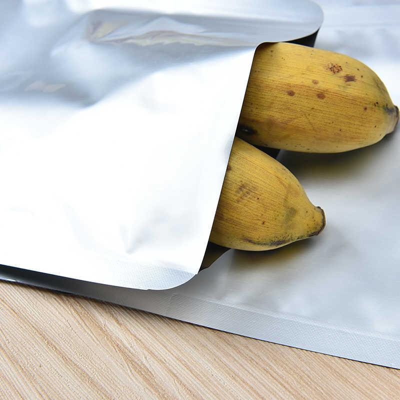 10 Pcs Houden Voedsel Verse Home Storage Saver Aluminiumfolie Mylar Zak Vacuüm Sealer Zakken Voedsel Pakket Opbergtas